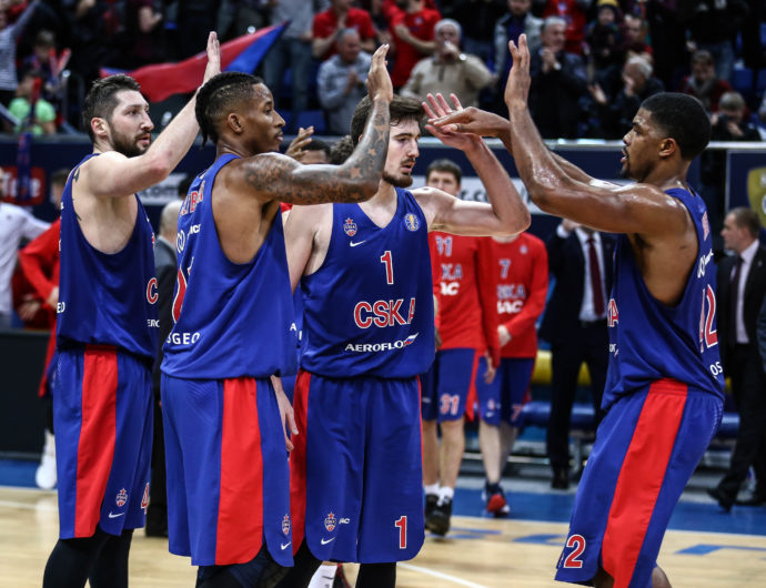 CSKA Tops Khimki In Front Of Sell-Out Crowd