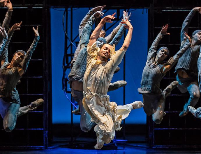 Театр балета Бориса Эйфмана–на Матче Всех Звезд в Санкт-Петербурге
