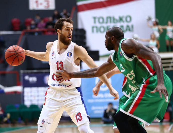 CSKA Deals UNICS First Loss, Remains Undefeated