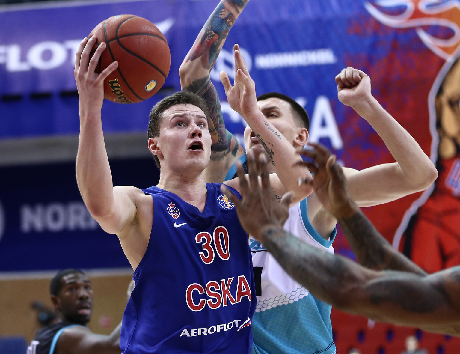 CSKA Cruises On Christmas