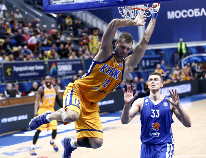 Moscow Region Mashes Enisey By 30