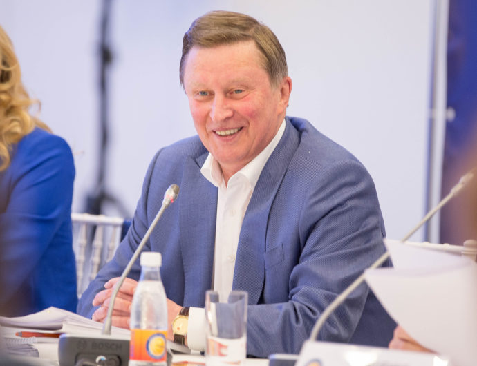 Sergey Ivanov Celebrates 65th Birthday!
