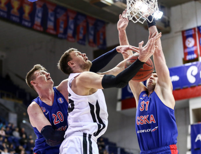 Watch: CSKA vs. Nizhny Novgorod Highlights