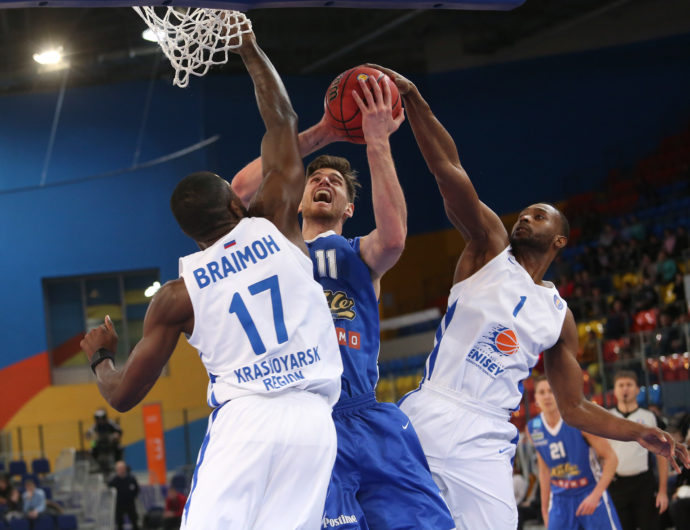 Watch: Enisey vs. Kalev Highlights