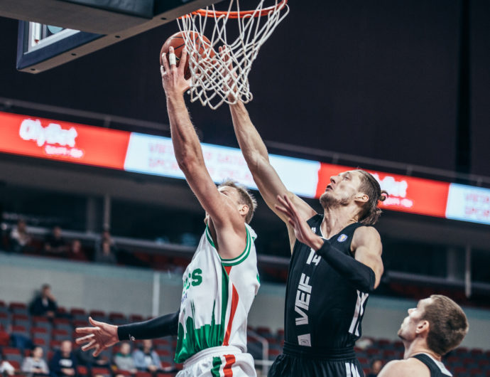 Watch: VEF vs. UNICS Highlights