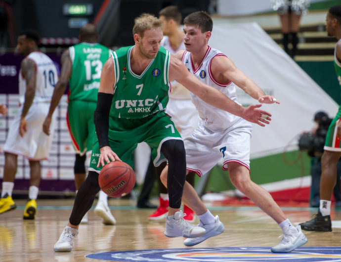 UNICS Slows Down PARMA At The Basket Hall
