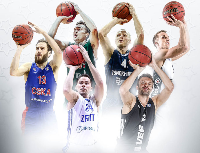Rodriguez, Broekhoff, Kuric, Kudrautsau, Mirkovic And Janicenoks Picked For Three-Point Contest