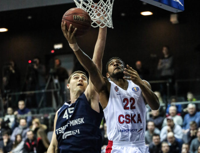 CSKA Wins In Minsk