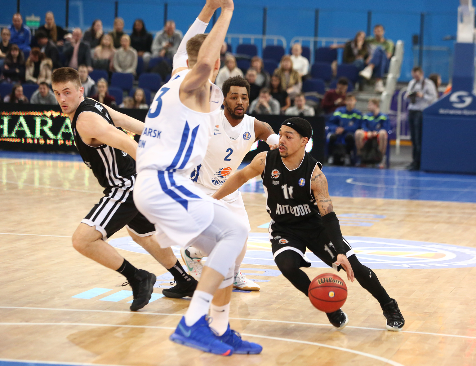 Robinson Dazzles, Avtodor Goes 5th By Dropping Enisey