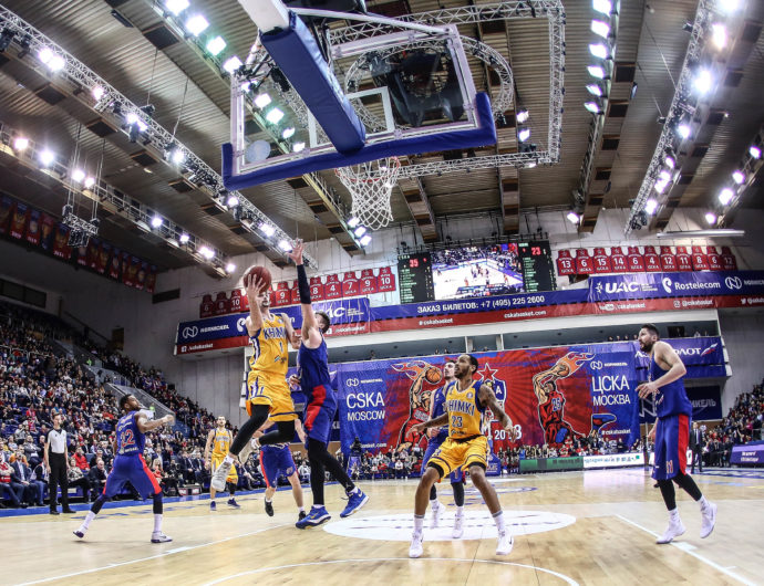 Watch: CSKA vs. Khimki Highlights