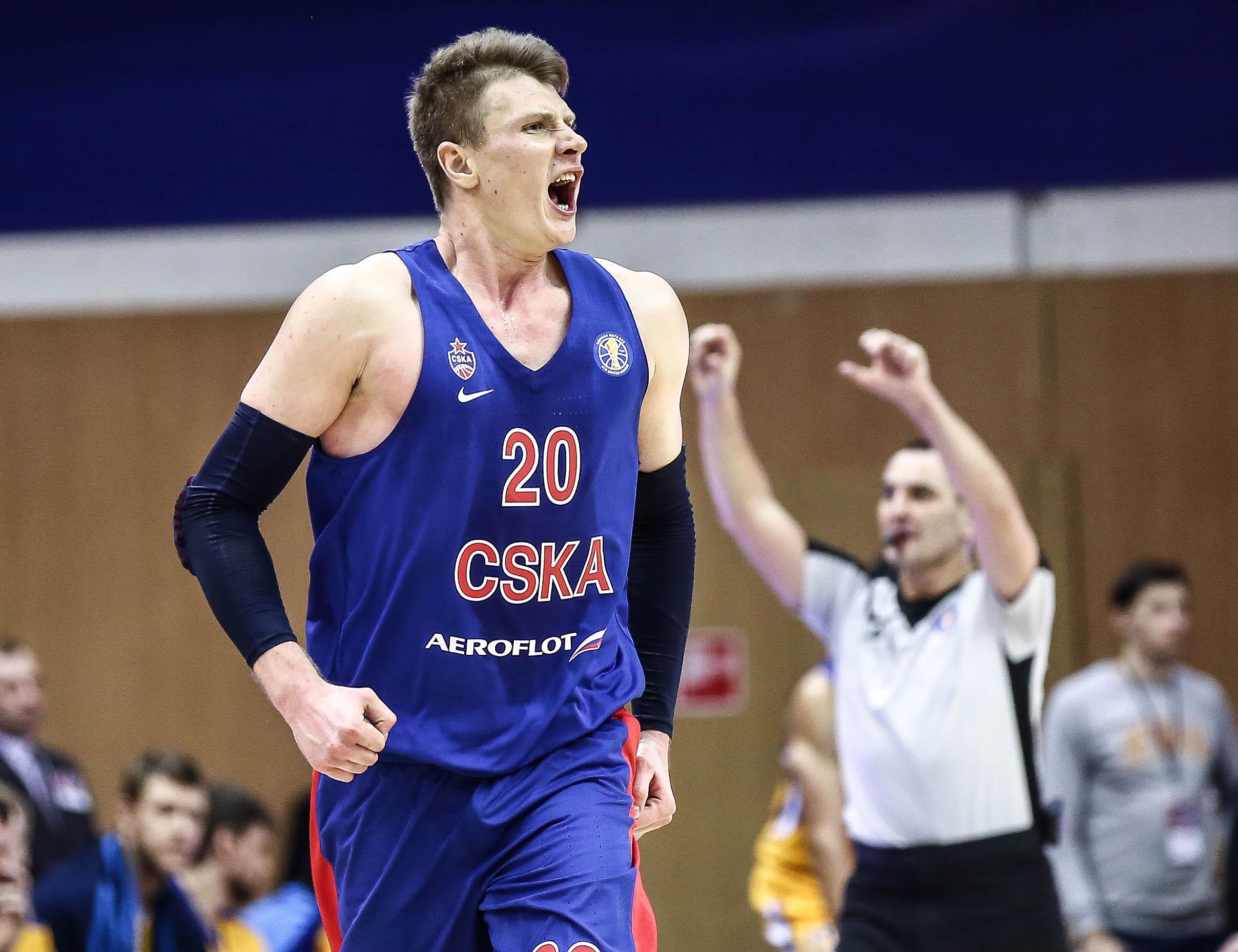 Hot Shooting CSKA Extends Streak vs. Khimki