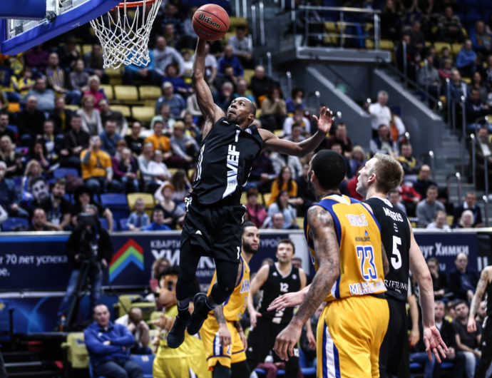 Watch: Khimki vs. VEF Highlights