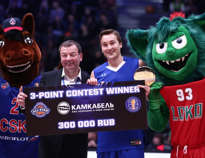 Ryan Broekhoff Wins Three-Point Contest