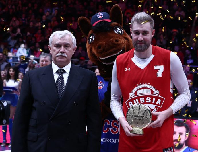 Сергей Карасев – MVP Матча Всех Звезд в Санкт-Петербурге