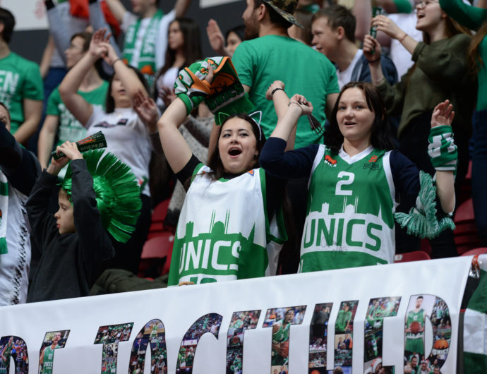 Watch: UNICS vs. Tsmoki-Minsk Highlights