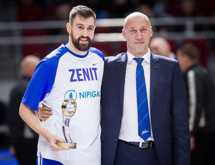 Sergey Karasev Named January MVP