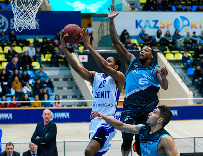 Astana Rolls To Surprising Victory Over Zenit
