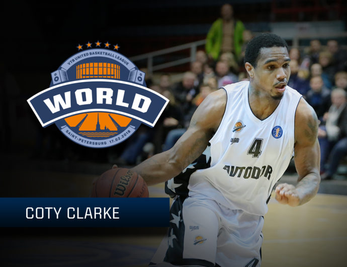 Starting For The World Stars: Coty Clarke