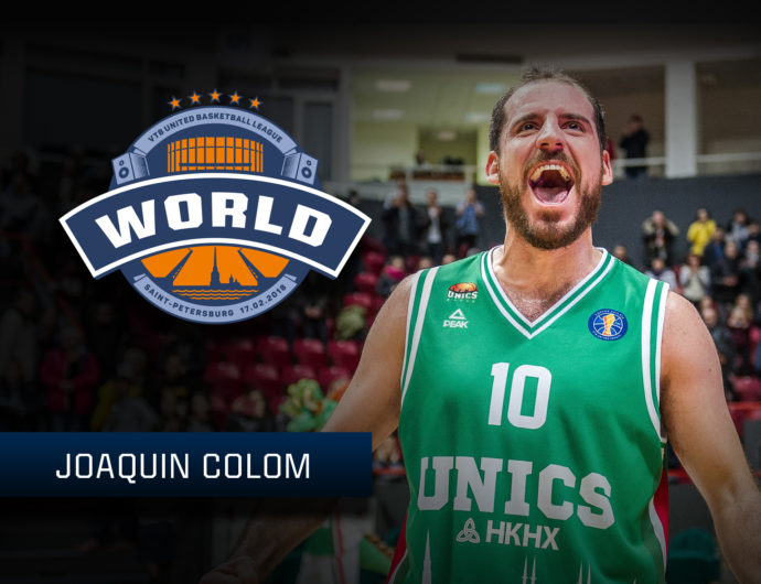 Starting For The World Stars: Joaquin Colom
