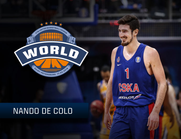 Starting For The World Stars: Nando De Colo