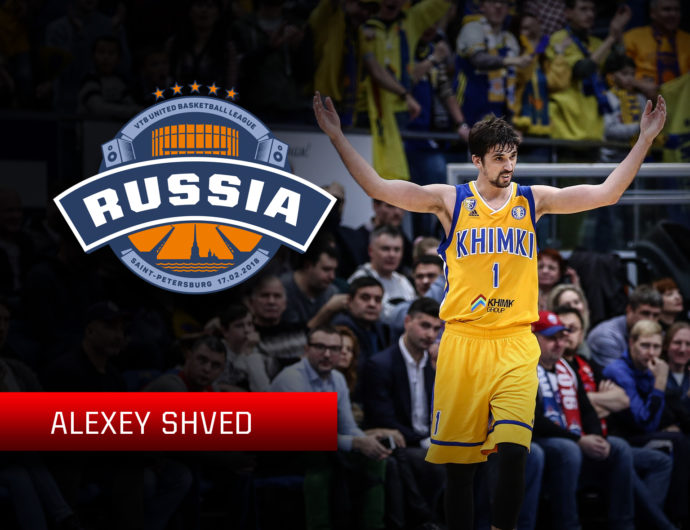 Starting For The Russian Stars: Alexey Shved