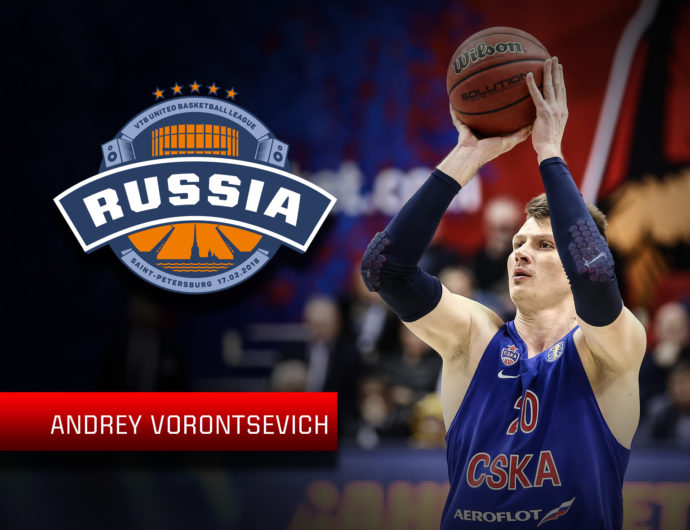 Starting For The Russian Stars: Andrey Vorontsevich