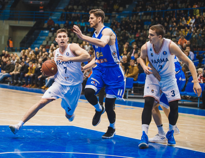PARMA Clobbers Kalev, Scores 100 For 1st Time