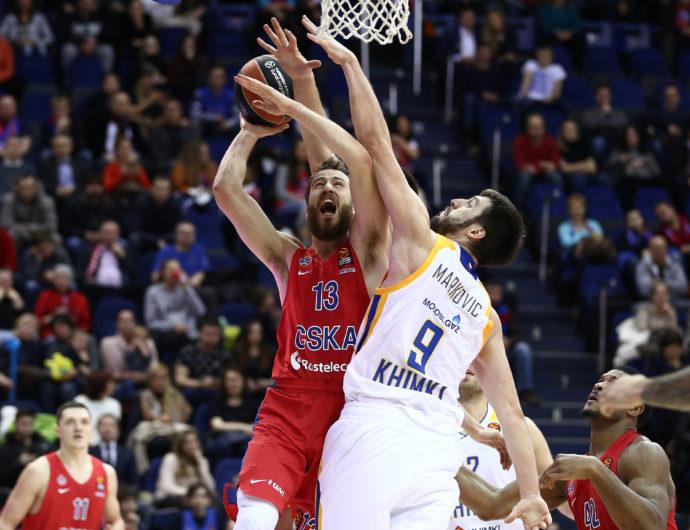 VTB League Clubs In The EuroLeague: CSKA Wins Regular Season, Khimki Qualifies For Playoffs