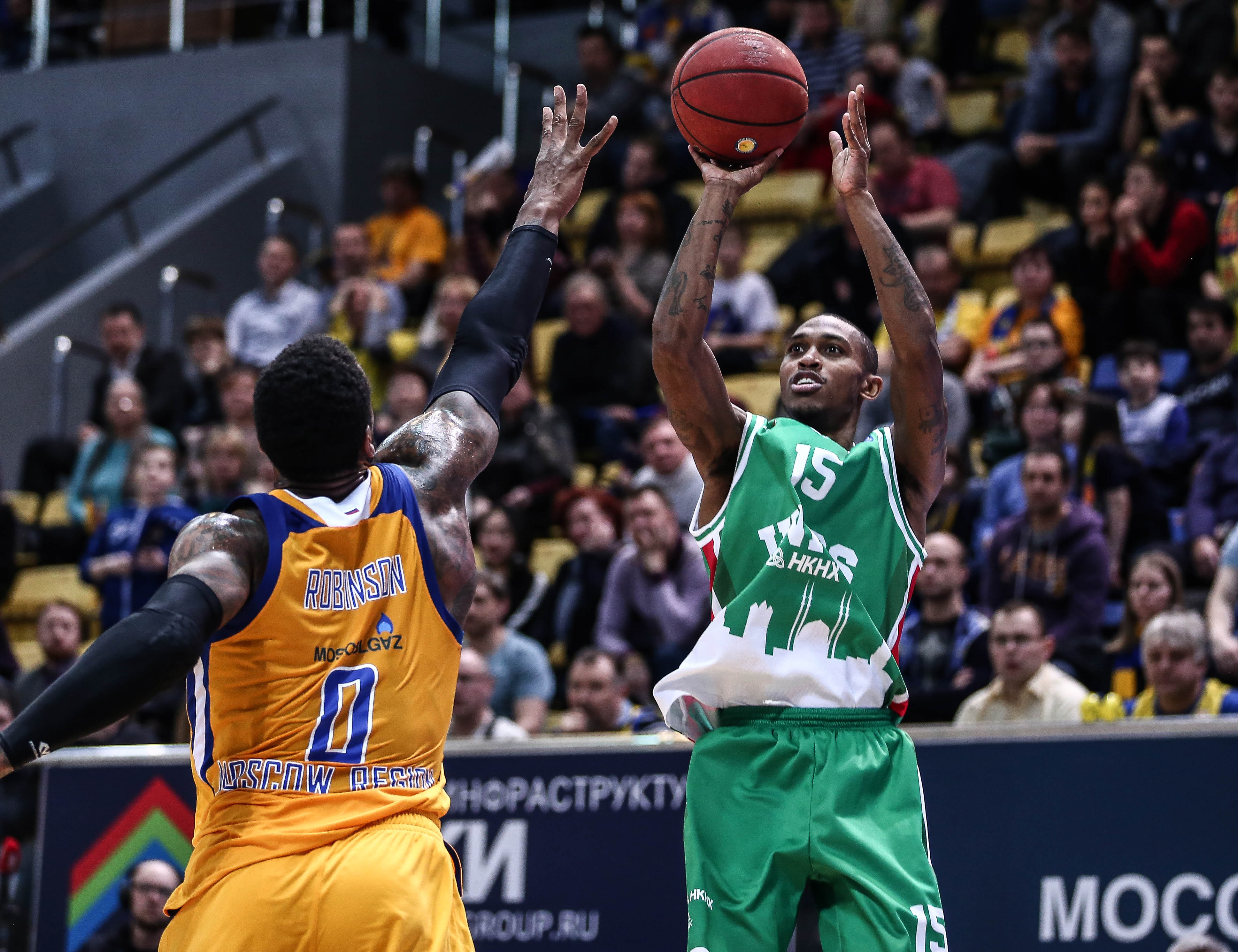 UNICS Survives Khimki At The Buzzer