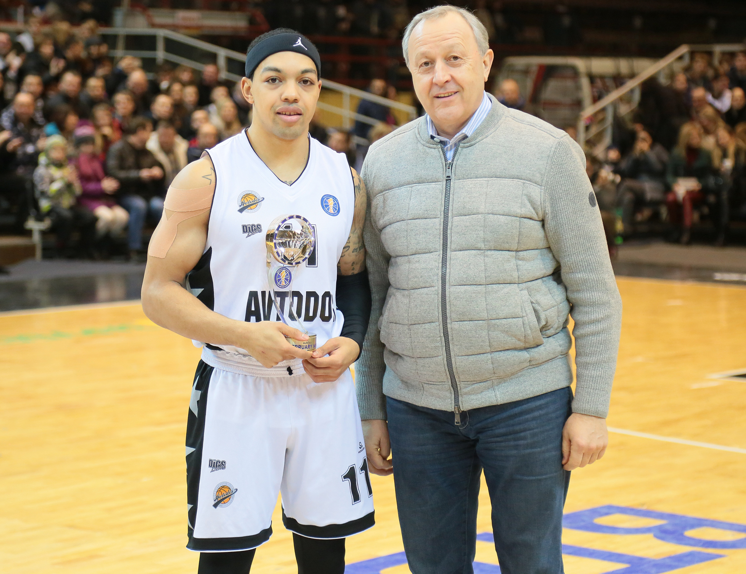 Justin Robinson Named February MVP