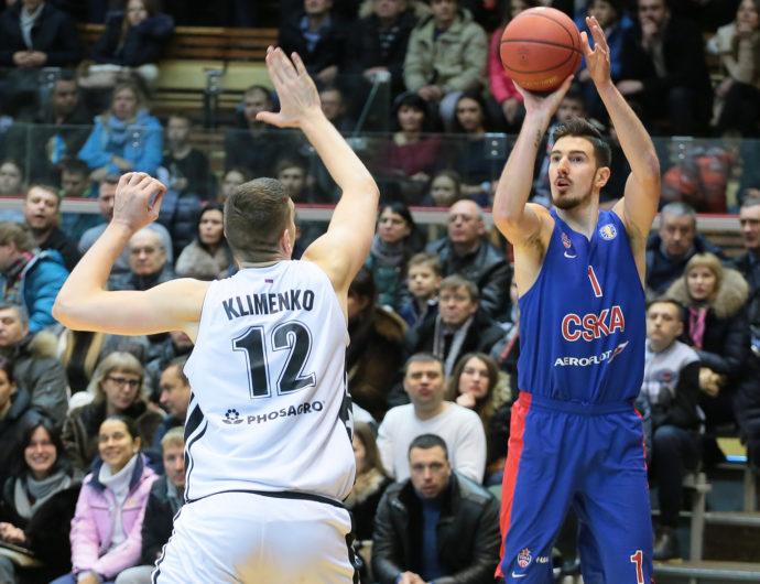 De Colo Scores 35, CSKA Wins Shootout In Saratov