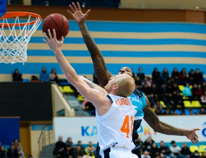 Watch: Astana vs. Tsmoki-Minsk Highlights