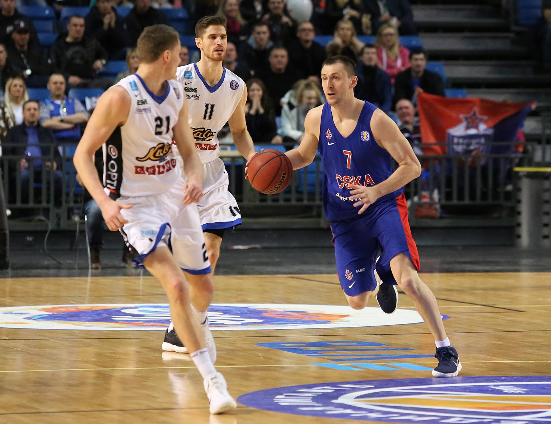 CSKA Clips Kalev, Improves To 20-2