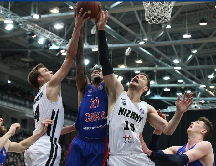 CSKA Lights Up Nizhny Novgorod
