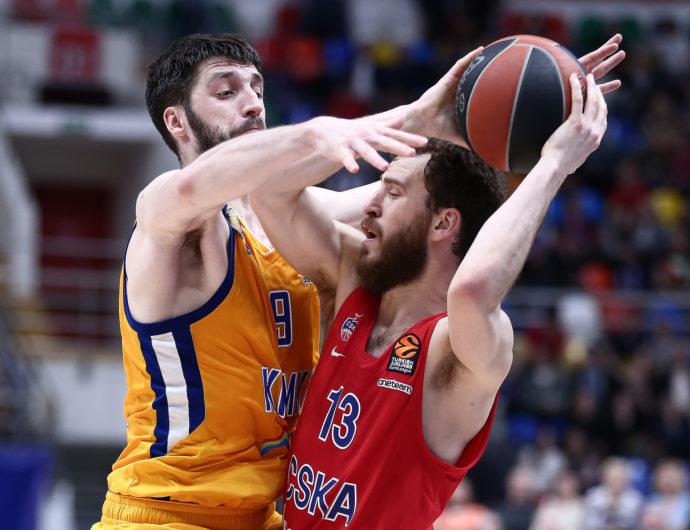 CSKA Defeats Khimki In Game 1 Of EuroLeague Quarterfinals