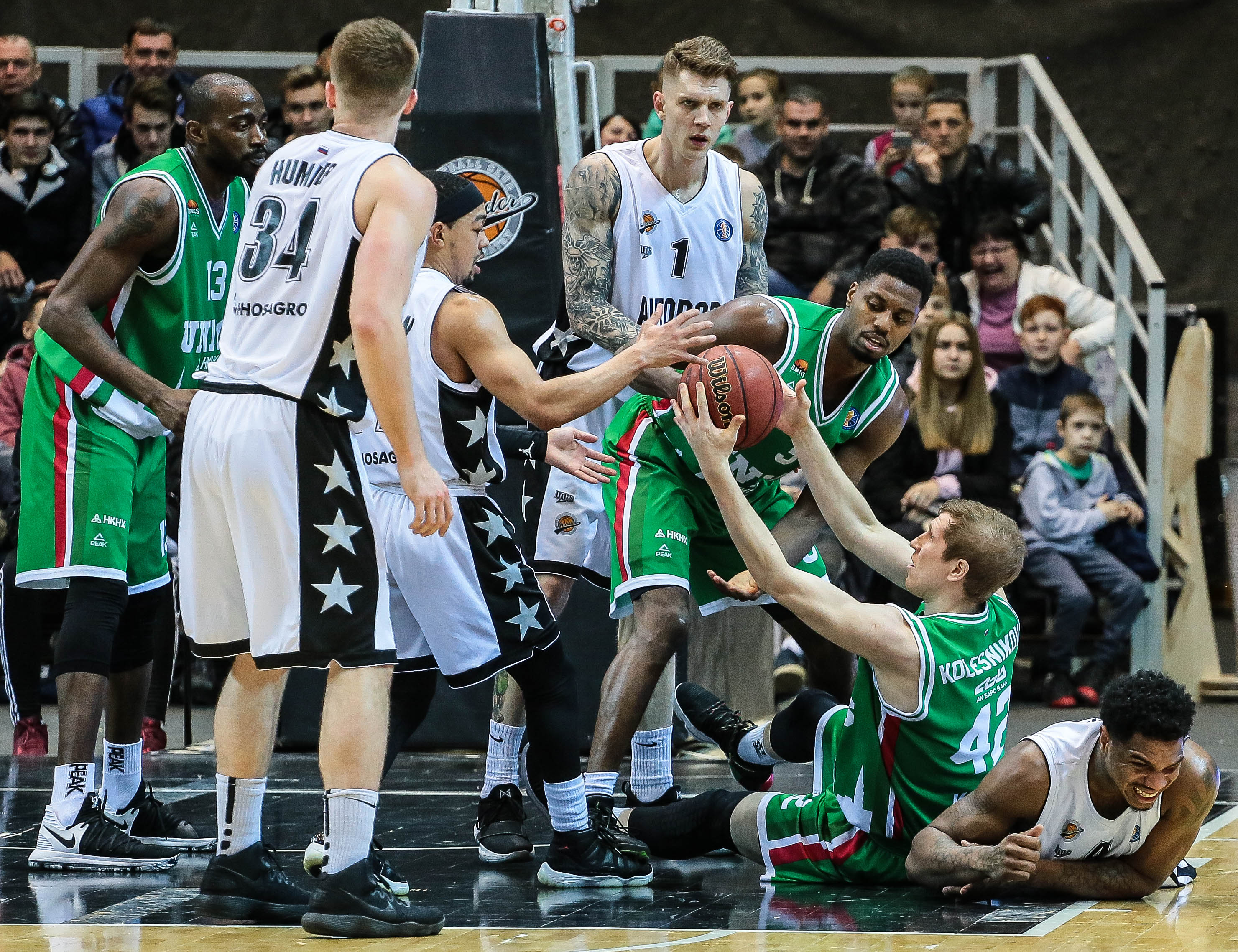 UNICS Erases 15-Point Deficit, Defeats Avtodor