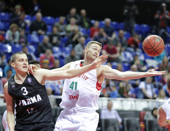 Lokomotiv-Kuban Rebounds vs. PARMA