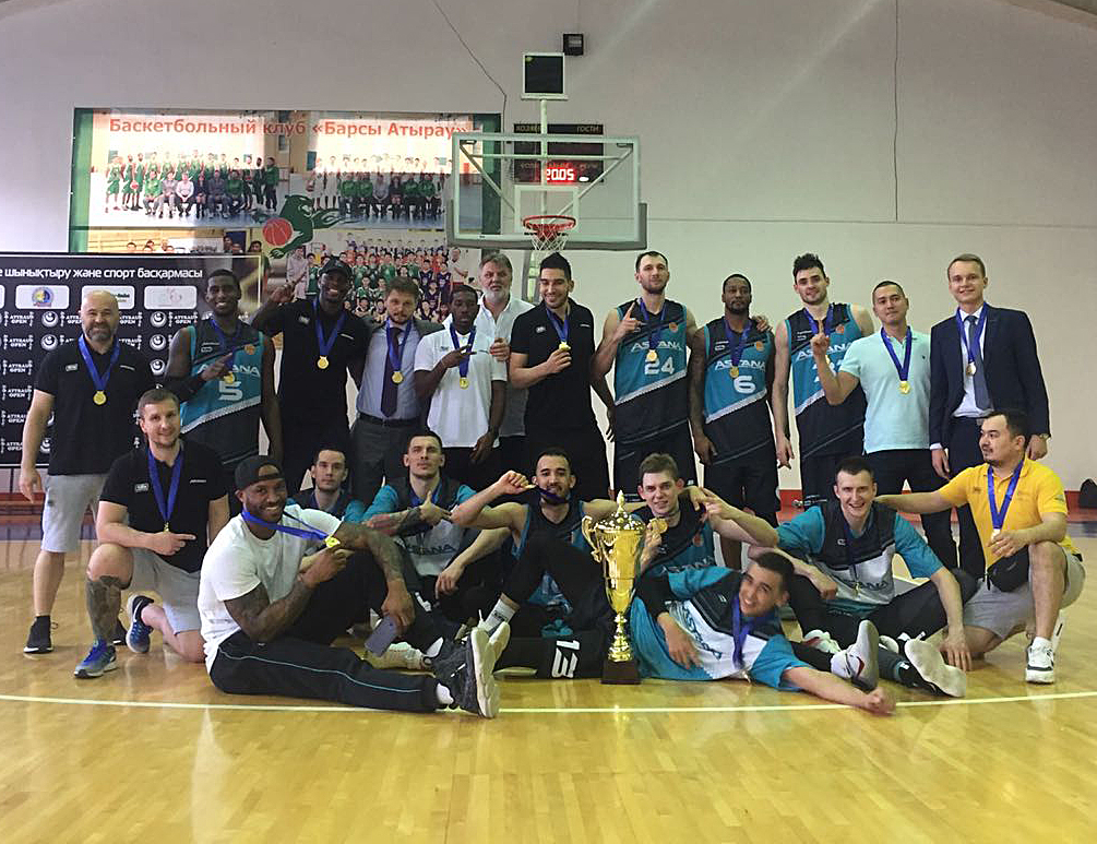 Astana Wins Kazakh League