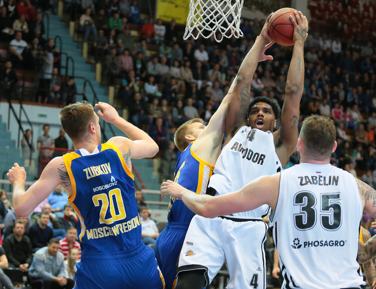 Avtodor Drops Khimki, Takes Over 5th Place