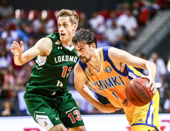Khimki Strikes In Krasnodar