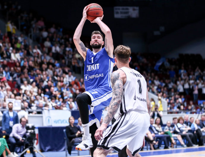 Zenit Streaks To Series Lead