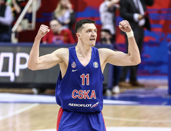За плей-офф все еще спорят 5 команд, Коти Кларк в режиме MVP, а ЦСКА в шаге от победы в «регулярке». Главные сюжеты недели