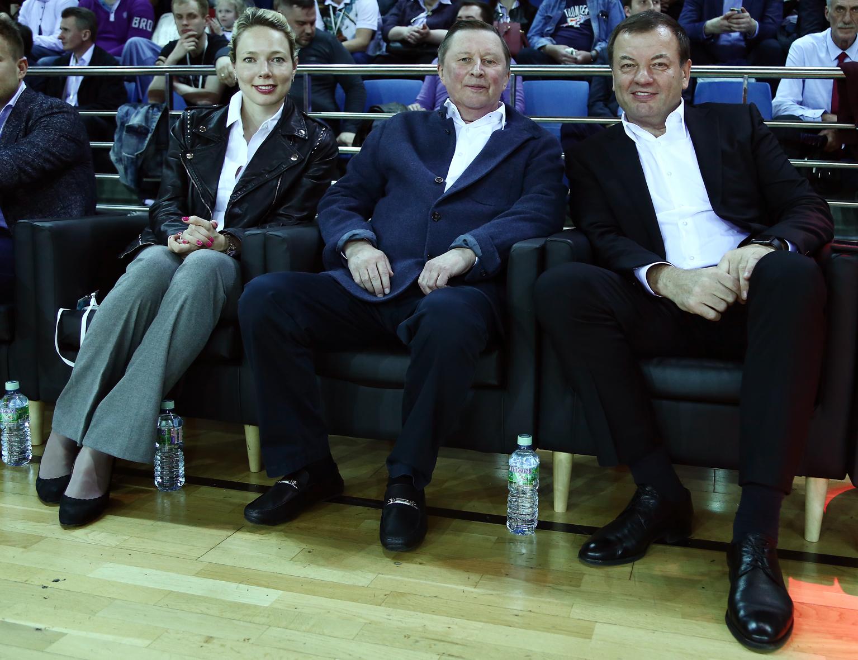 Руководители Лиги посетили суперфинал Лиги Белова