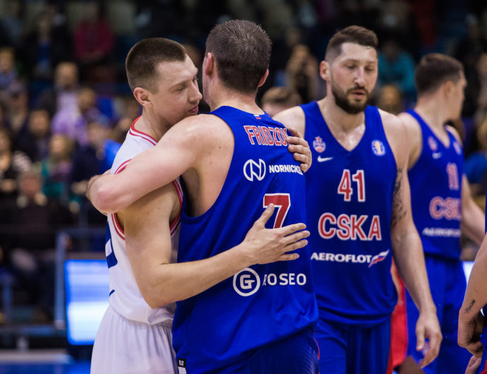 Week In Review: CSKA Takes 1st Place, Nizhny And VEF Clinch Playoffs