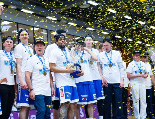 «Калев» — чемпион Эстонии