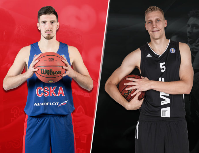 Quarterfinals: CSKA (1) vs. VEF (8)
