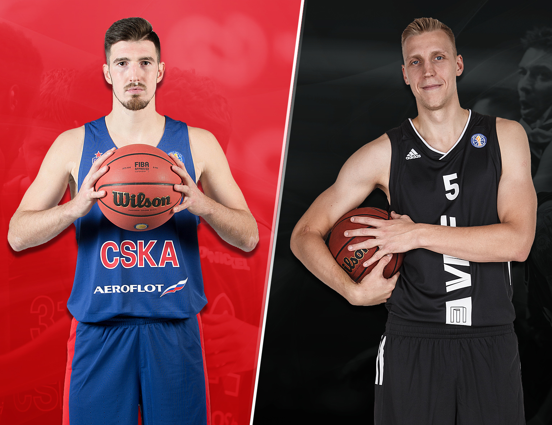 Quarterfinals: CSKA (1) vs. VEF (8)