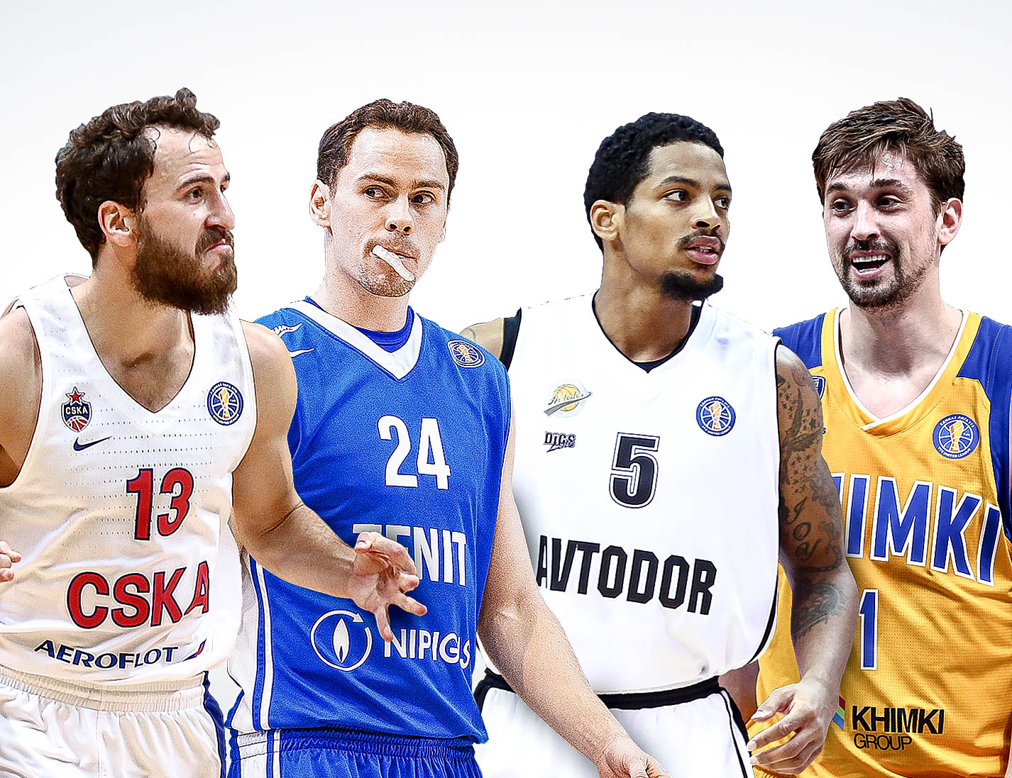 Super Saturday: CSKA vs. Zenit And Avtodor vs. Khimki