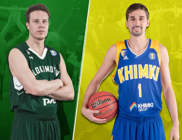 Quarterfinals: Lokomotiv-Kuban (3) vs. Khimki (6)