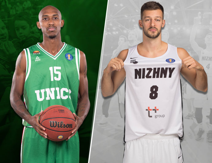 Quarterfinals: UNICS (2) vs. Nizhny Novgorod (7)